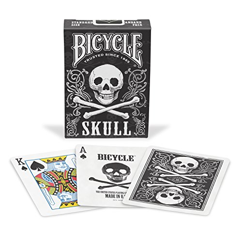 Bicycle Skull Playing Cards (Christmas Playing Cards)