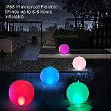 Floating Pool Lights Inflatable Waterproof IP68