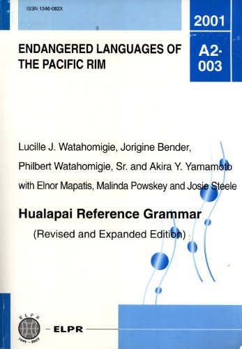 Hualapai Reference Grammar (ELPR, A2-003)