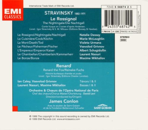 rossignol dessay Find great deals for natalie dessay: stravinsky - rossignol (dvd, 2005) shop with confidence on ebay.