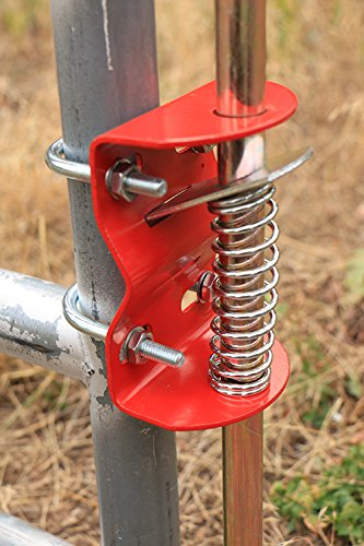 RanchEx 102554 Gate Anchor - Holds Gate In Place, For Round Tube Gates 1-3/4