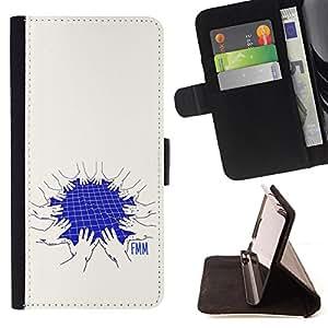 Dragon Case - FOR Samsung Galaxy A3 - who likes talking - Caja de la carpeta del caso en folio de cuero del tir¨®n de la cubierta protectora Shell