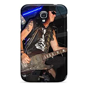 Samsung Galaxy S4 QHc18214cePL Provide Private Custom Beautiful Guns N Roses Pictures Bumper Hard Cell-phone Case - PamelaSmith
