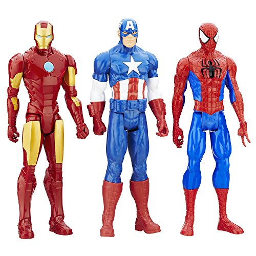 Action Figures - Marvel Titan Hero Series 3-Pack