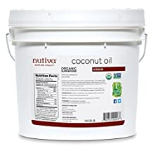 Nutiva organic virgin Coconut Oil, 3790 Milliliters