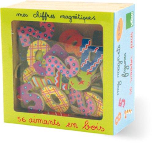 Jungle Magnets - Vilac Set of 56 Numerical Magnets
