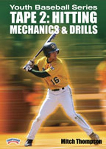 Image of Championship Productions Youth Baseball Series Hitting Mechanics and Drills DVD 2