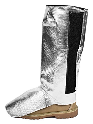 National Safety Apparel L05NLNLVCXXXL Aluminized Carbon/Para-Aramid Leggings, X-Large by National Safety Apparel Inc