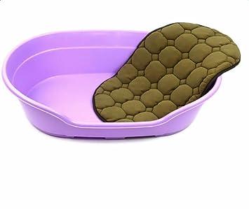 cosanter Buena Calidad lavable Perros Animales cama con perros Mate de plástico para perros, gatos mascotas, tamaño 57 cm x 37.6 cm x 14 cm: Amazon.es: ...