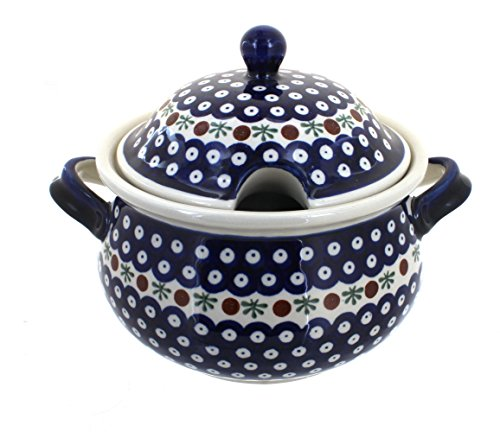 Polish Pottery Nature Soup Tureen
