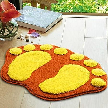 Sitting room sofa tea table Foot Print carpet Kitchen bedroom bathroom door mat big foot mat bath mat nikstoreinus