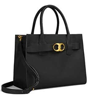 84f457f5b96d Tory Burch Women s Small Robinson Double-Zip Leather Top-Handle Bag ...