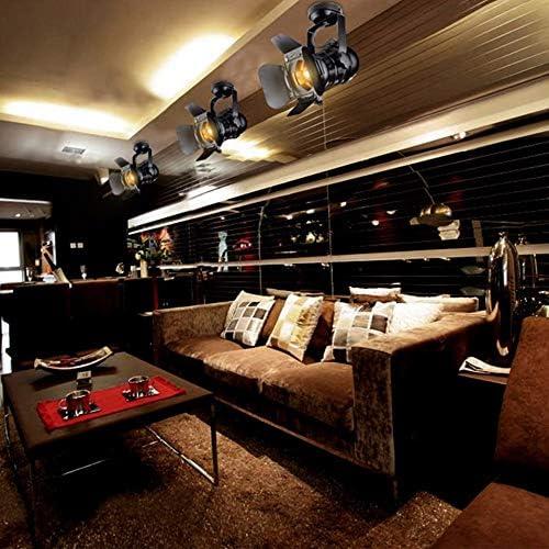 W17 H35cm Loft Decke Spots LED Scheinwerfer Rahmen Deckenleuchten Lampe Haus Beleuchtung 48 Hobaca 220v E27 L31
