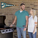Applied Icon, NFL Miami Dolphins Outdoor Pennant Decal