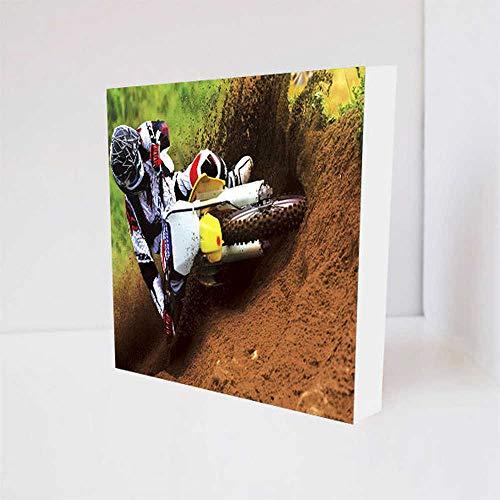 Quadro Decorativo - Motocross - Tag 16x16