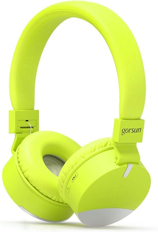 gorsun Wireless Kids Headphones with Microphone, Children s Wireless Bluetooth Headphones, Foldable Bluetooth Stereo Over-Ear Kids headsets