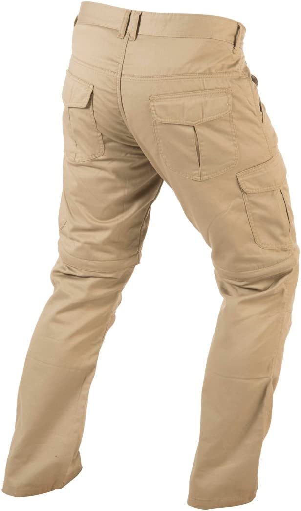 Trilobite Dual Pants 2 in 1 Herren Motorrad Hose Beige L/änge 32 Abnehmbares Hosenbein Gr/ö/ße 32 38186407