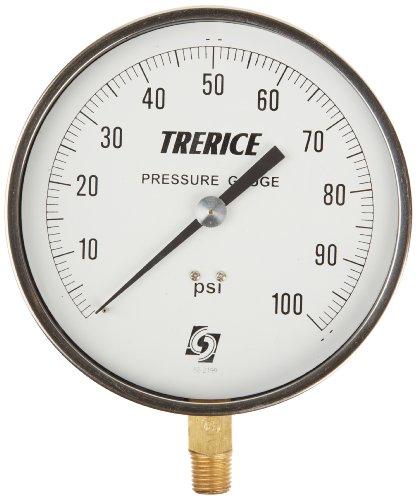 Trerice 600CB4502LA110 Contractor Gauge, 4.5