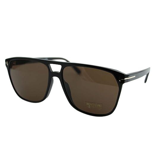 Gafas de Sol Tom Ford Shelton FT 0679 Black/Brown Hombre ...