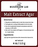 Malt Extract Agar (MEA) Powder, 4 oz/113 g