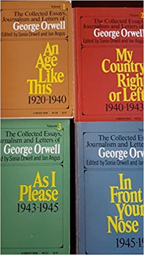 Learning Starts With Failure Essay The Collected Essays Journalism And Letters Of George Orwell   Volume  Set George Orwell Sonia Orwell Ian Angus Amazoncom Books Essay On Gender Bias also Examples Of Expository Writing Essays The Collected Essays Journalism And Letters Of George Orwell    Essays On God