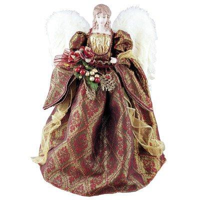 Kurt Adler Baroquet Angel Tree Topper - 16''