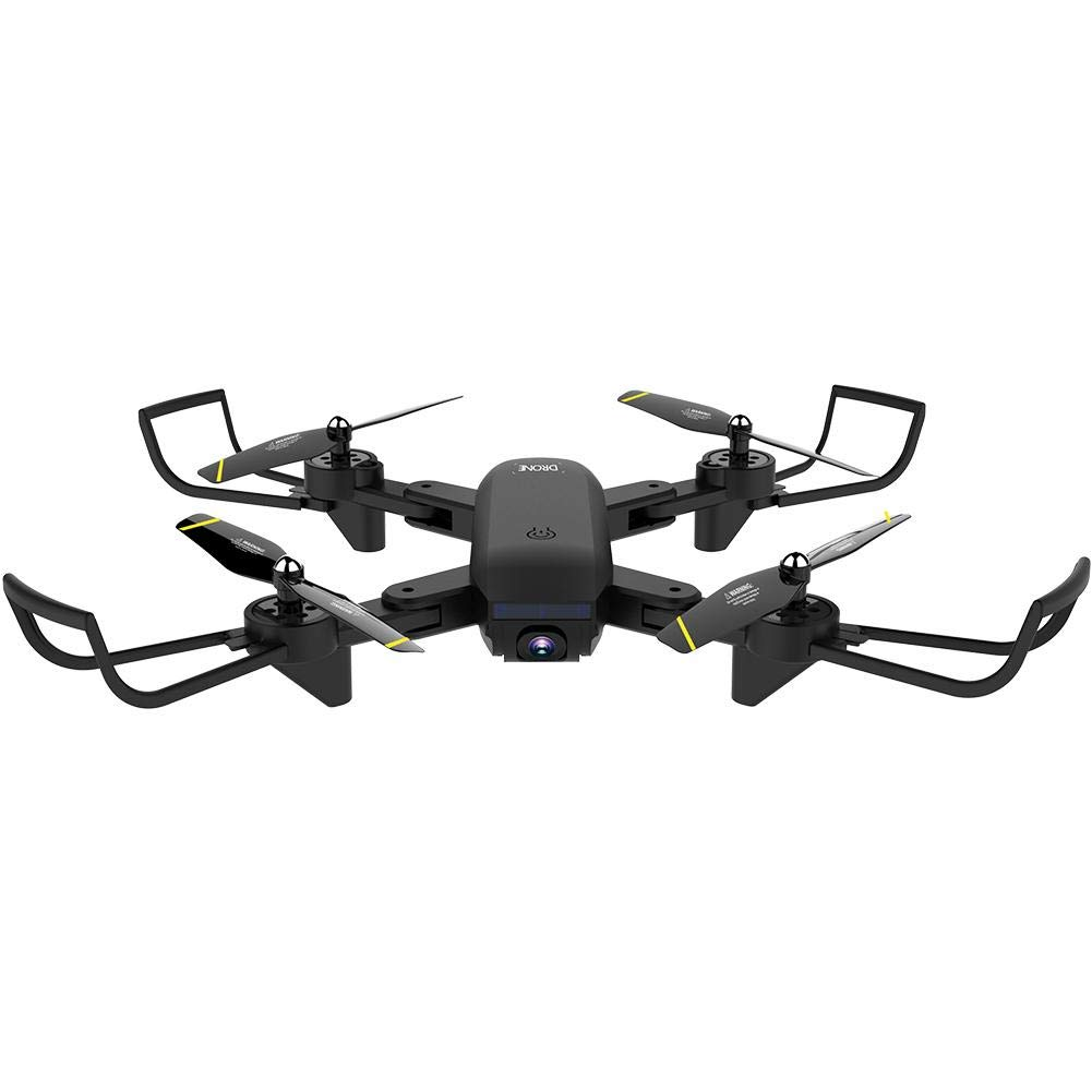 Black coil.c RC Drone With Camera HD, SG700D Folding Drone Optical Flow 1080P HD Dual Camera Realtime Video, 4 Channels Long Battery Life WiFi Aerial RC Quadcopter Aircraft White