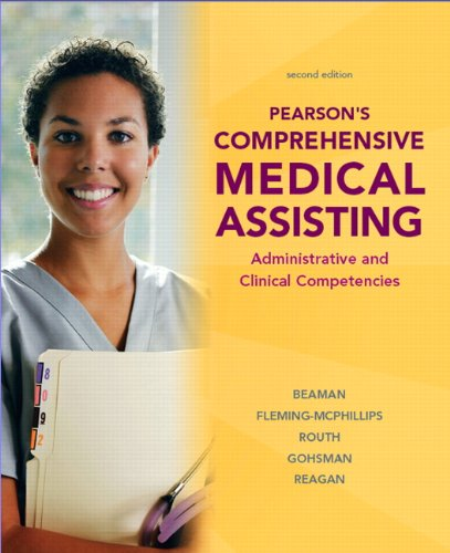 Pearson's Comprehensive Medical Assisting (2nd Edition) by Pearson
