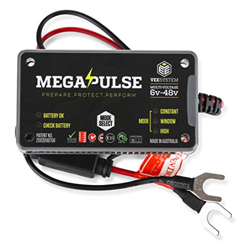 Car Battery System : Megapulse vee system vehicle electrics enhancement