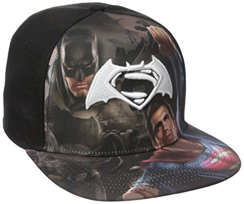DC Batman Gorra Snapback Béisbol Superman Comics De Sublimated Logo vs OOgrnx6