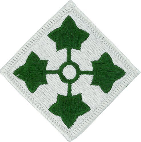 4th Infantry Division Patch (Full Color (Dress))