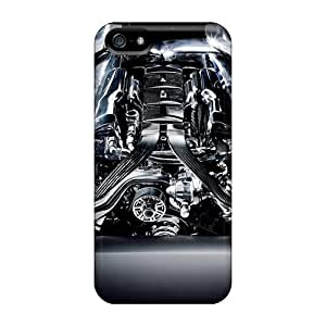 High Quality TerryMacPhail Jaguar Supercharged Engine Skin Cases Covers Specially Designed For Iphone - 5/5s