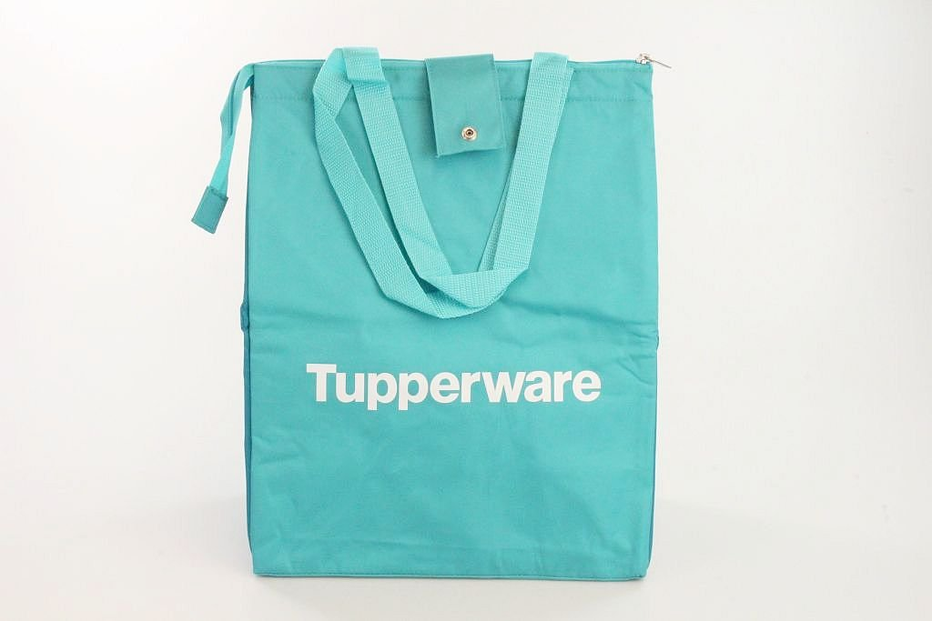 TUPPERWARE K/ühltasche Picknicktasche faltbar t/ürkis//blau Tasche