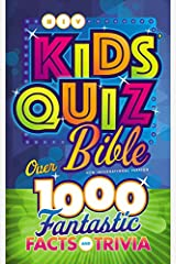 NIV, Kids' Quiz Bible, Hardcover: Over 1,000 Fantastic Facts and Trivia Hardcover