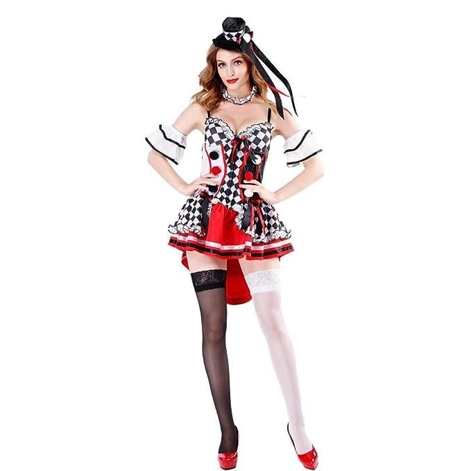 Z&X Disfraz de Halloween - Disfraz de Reina de Corazones Alice ...
