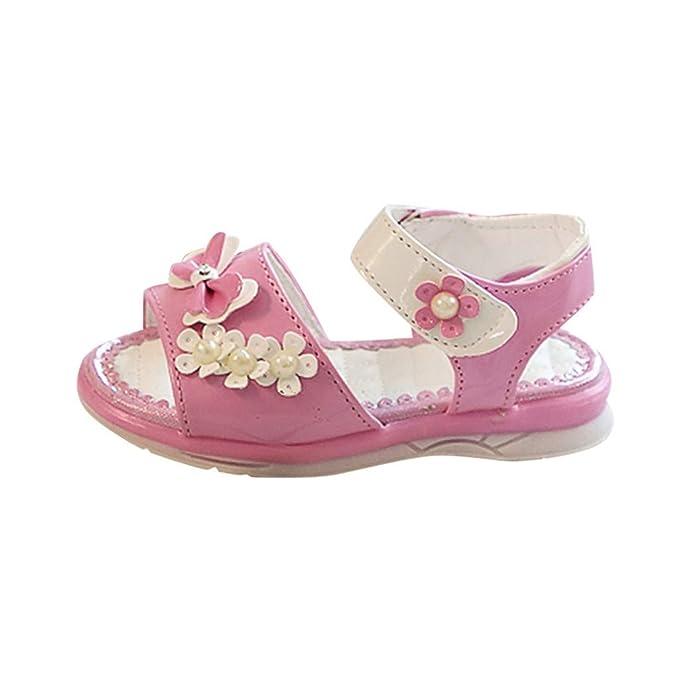 Amazon.com: Lurryly - Sandalias para bebé, niñas, niños ...