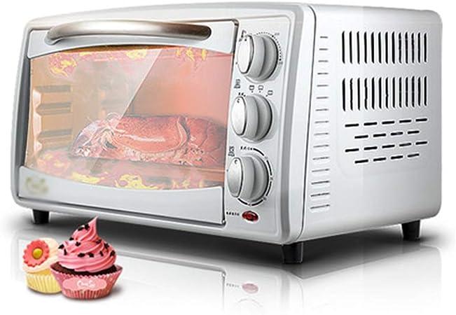 Pojrhfy Cocina Mini Horno Horno multifunción Hogar Horno para Hornear Calentamiento rápido Horno eléctrico pequeño pequeño Hornos de Cocina: Amazon.es