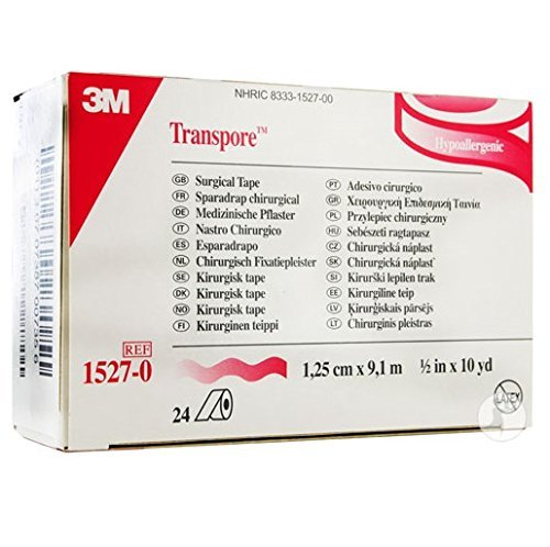 3M Health Care 1527-0 Surgical Tape  x 10 yd. Size Clear (Pack of 240) [並行輸入品]   B07QQZKQF2