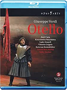 Verdi: Otello (Gran Teatre del Liceu) [Blu-ray] [Reino Unido]