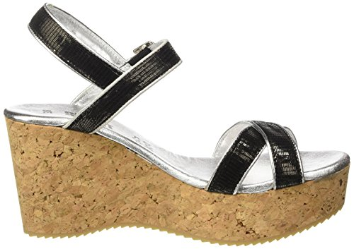 Wedges Sandali Sandalette Sommer Sh Shoot Damen Shoes nero Nero Keil Donna 160030cc nero x0RwOnaCq