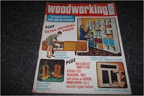 Practical Woodworking Magazine Feb 1972 Amazon Co Uk Practical