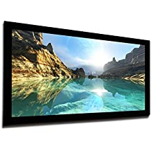 Universal 120 inch 16:9 Fixed Frame Projector Screen for Home Theater or Office by FAVI - Model FF2-HD-120