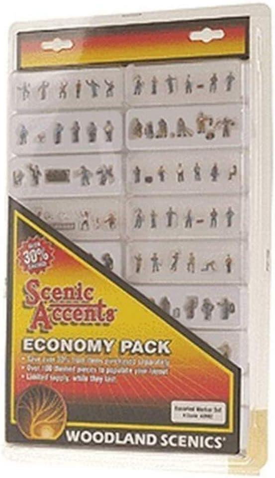 WOOA2062 Woodland Scenics N Economy Figure Assortment