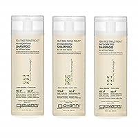 Giovanni Invigorating Tea Tree Shampoo - Triple Treat Strengthens, Conditions, and...