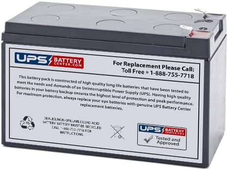 12V 9Ah UPS Replacement Battery for Best Technologies LI660VA