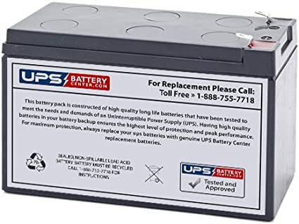 GS Goldtop GT12080-HG Compatible Replacement Battery