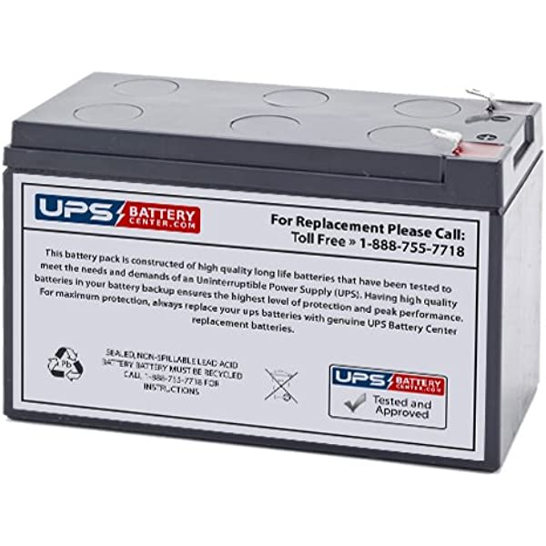 Amazon Com Bb Sh7 12 Sh 7 12 12v 8ah Ups Battery Replacement Health Personal Care
