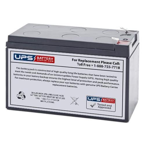 12V 9Ah F2 - Tripp Lite G1000U Replacement Battery by UPSBatteryCenter