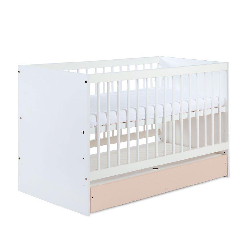 Baby- und und und Kinderbett DALIA Beige mit Bettkasten, 140 x 70 cm f6e32e