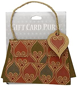 The Gift Wrap Company Bali Purse Style Gift Card Holder (Pack of 12)